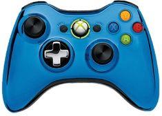 Master Modded Controller Xbox 360 In Custom Blue Chrome