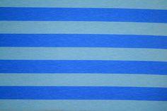 Knit Atlantic Ocean Stripes 7/8 Fabric by by EliteCraftSupplies