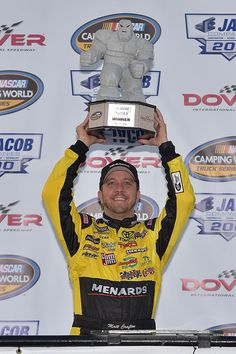 Matt Crafton gets his first win at the Monster Mile!