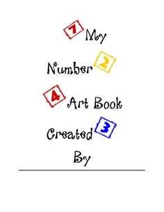 This is a number 0-5 art book for Pre-k or kindergarten age students.  This could be used as a center to review numbers 0-5, used with a small grou...