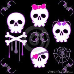emo-skulls-7433058.jpg (800×800)