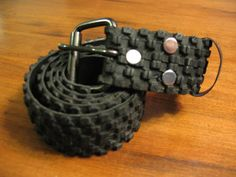 Recycled Bicycle Tire Belt by BicyclesRecycled on Etsy