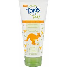Toms Of Maine Lotion Baby Moisturizing Fragrance Free 6 Oz