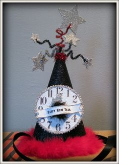 Vintage Inspired New Year's Eve Party Hat