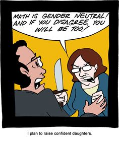 SMBC is such a great comic (not that I'd condone violence, of course). We need more girls and ladies in STEM subjects!    #feminism