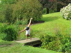 Our budding little gymnast enjoying the grounds at Leeds Castle, Kent Large Terracotta Pots, Leeds Castle, Garden Features, Garden Supplies, Garden Planters, Plants, Planters, Plant, Planting