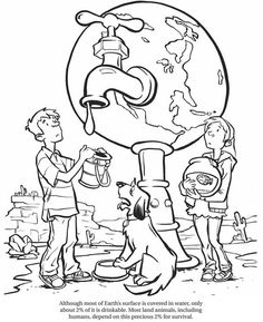 Earth Day 2017 Coloring Pages – doodle AJ - Responsible Earth Day Coloring Pages, Colouring Pages, Coloring Books, Leaf Coloring, Pages Doodle, Save Water Poster Drawing, The Dot Book, Recycling Facts, Drawing Competition
