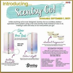 Taking PreOrders for Scentsy Go! Fill out the Google Form and reserve your Scentsy Go!