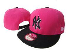 Pink New York  Yankees  Snapback  NYC  NY  Bronx  Brooklyn b76d7e92d35