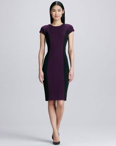 Colorblock Structured Dress  by Raoul at Neiman Marcus.