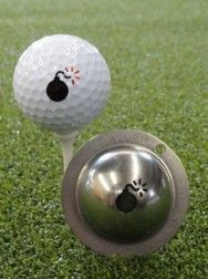 Tin Cup Golf Ball Marker - Best Gift for Him