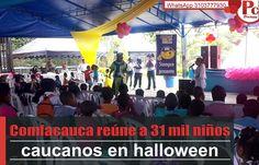 La Caja de Compensación Familiar del Cauca celebra el día de Halloween a los niños y niñas del departamento, entregando suplementos de alto valor nutricional a base de productos ancestrales como La Quinua, procesados por empresas caucanas.[http://www.proclamadelcauca.com/2014/10/comfacauca-reune-a-31-mil-ninos-caucanos-en-halloween.html]