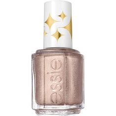 essie retro revival nail color, sequin stash (€7,55) ❤ liked on Polyvore featuring beauty products, nail care, nail polish, beauty, nails, makeup, essie, sequin stash, essie nail polish and essie nail color