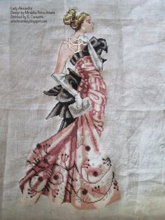 Lady A conversion... Mirabilia Lady Alexandra.  Conversion posted at http://stitchinsmiley.blogspot.com/