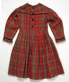 Dress Date: ca. 1870 Culture: American Medium: wool