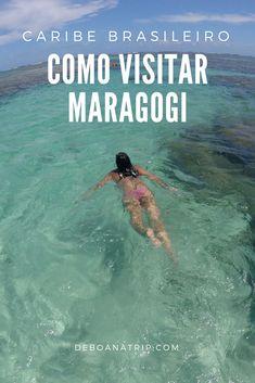 Maragogi, em Alagoas, é o Caribe Brasileiro. Veja a melhor época para ir e como fazer o passeio de barco #brasil #travel #trip #viagem #ferias #vacation #viajar #praia #beach #beachlife #sea #paradise