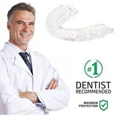 Professional Dental Custom Thin Fit - Night Mouth Guard - Pack of 4 - with 2 Storage Cases - Slim Protectors - Bite Splint to Stop Teeth Grinding, TMJ, Bruxism, Clenching - Upper And Lower #Professional #Dental #Custom #Thin #Night #Mouth #Guard #Pack #with #Storage #Cases #Slim #Protectors #Bite #Splint #Stop #Teeth #Grinding, #TMJ, #Bruxism, #Clenching #Upper #Lower
