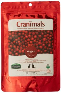 Cranimals Original Organic Supplement for Dogs and Cats 120 g *** See this great product.