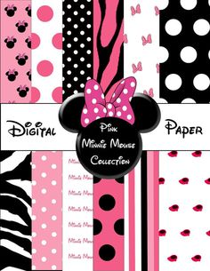 Hey, I found this really awesome Etsy listing at http://www.etsy.com/listing/122081530/printable-minnie-mouse-digital-paper