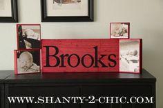 Photo Blocks using Rit Dye - Shanty 2 Chic