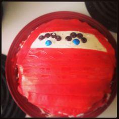 Ninja Cake for my little ninja - hai ya