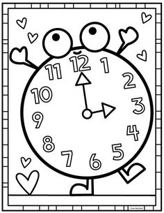 Coloring Club Library — From the Pond Cute Coloring Pages, Coloring Pages For Kids, Coloring Sheets, Coloring Books, Preschool Worksheets, Kindergarten Activities, Preschool Activities, Color Club, Drawing For Kids