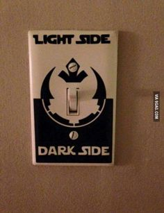 The only acceptable light switch