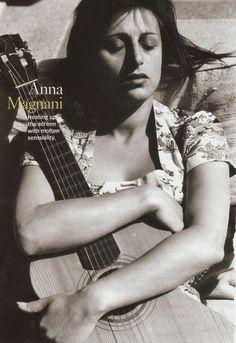anna magnani [ellastica scan] please retain proper credit. Anna Magnani, Dramatic Arts, Beat The Heat, Moon Goddess, Love Movie, Best Actress, Vintage Beauty, Night Club, Cinema