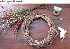 Making your own wreath for the holiday season this year is a must. It's so much cheaper than buying one ready-made, and they couldn't be easier to customize to reflect your signature st…