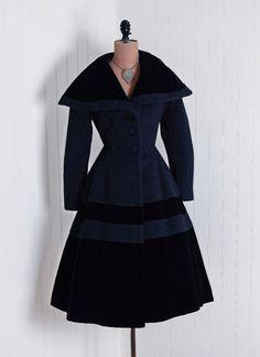 Vintage dress coat Lilli Ann, 1950s