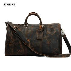 New Marco Tricca Work: Vintage 100% Genu...  Check it out, comments are welcome.   Thanks  http://bestitem.co/products/vintage-100-genuine-crazy-horse-cowhide-leather-large-capacity-men-male-travel-duffle-handbag-shoulder-luggage-bag-bags-for-man?utm_campaign=social_autopilot&utm_source=pin&utm_medium=pin