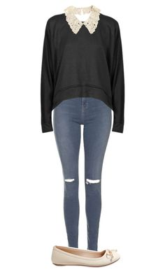 """""""collar"""" by joannechan00 ❤ liked on Polyvore featuring Topshop, T By Alexander Wang and Aéropostale"""