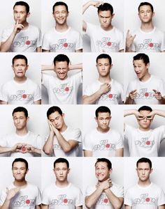 The many faces of Joseph Gordon-levitt