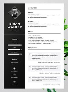 Curriculum Vitae Template Word Awesome 10 Best Free Resume Cv Templates In Ai Indesign Word Indesign Resume Template, Online Resume Template, Best Free Resume Templates, Cv Template, Word Templates, Resume Words, Resume Cv, Sample Resume, Resume Format