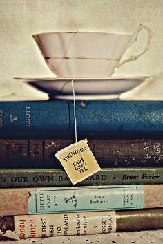 Tea and good books.