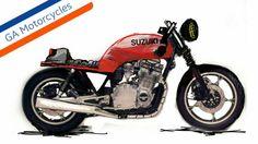 SUZUKI GS 1100 CC Cafe Racer