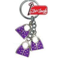 Три дамски чанти в лилав цвят, аксесоар, подходящ за Вашите ключове или за Вашата дамска чанта