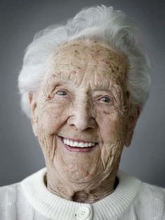 Old people and their hidden beauty