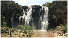 Salto de Corumbá em Goiás