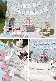 Alice in Wonderland themed tea party... Tea is great at any party :D