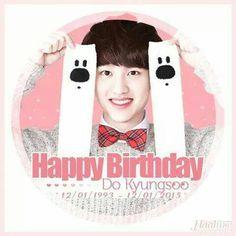 exo DO KYUNGSOO birthday