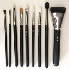 Best MAC Brushes 228, 263, 219, 242, 239, 221, 217, 224, 163