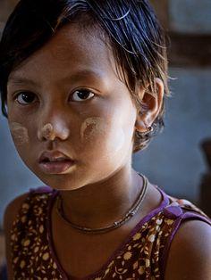 faces, Burma