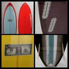 Dernières production de surf #Mccallum surfboard shapées en France chez UWL !