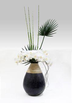Decorative ceramics furnishing articles metal zen style  The simulation flower 装饰 陶瓷  摆件 金属  禅意空间 仿真花