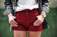 short cintura alta tumblr - Pesquisa Google