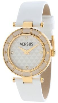 Versus Versace - Logo - SP803 0013 (Gold/White) - Jewelry on shopstyle.com