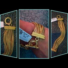 CHRISTMAS SALE!✨NEW w/Tag NY& Co Bracelet ✨NEW with Tag New York & Co Multi-Strand Bracelet ✨ Measures at 8.5 Inches ✨ Chic & Chunky ✨ Gold Tones ✨ New York & Company Jewelry Bracelets