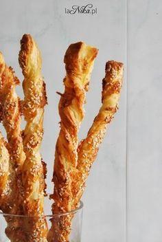 Gotowe paluszki z ciasta francuskiego z serem i sezamem 1 French Toast, Bacon, Cooking, Breakfast, Health, Food, Food And Drinks, Baking Center, Health Care