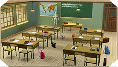 Around the Sims 3 | Downloads | Objects | School